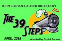 The 39 Steps adapted by Patrick Barlow