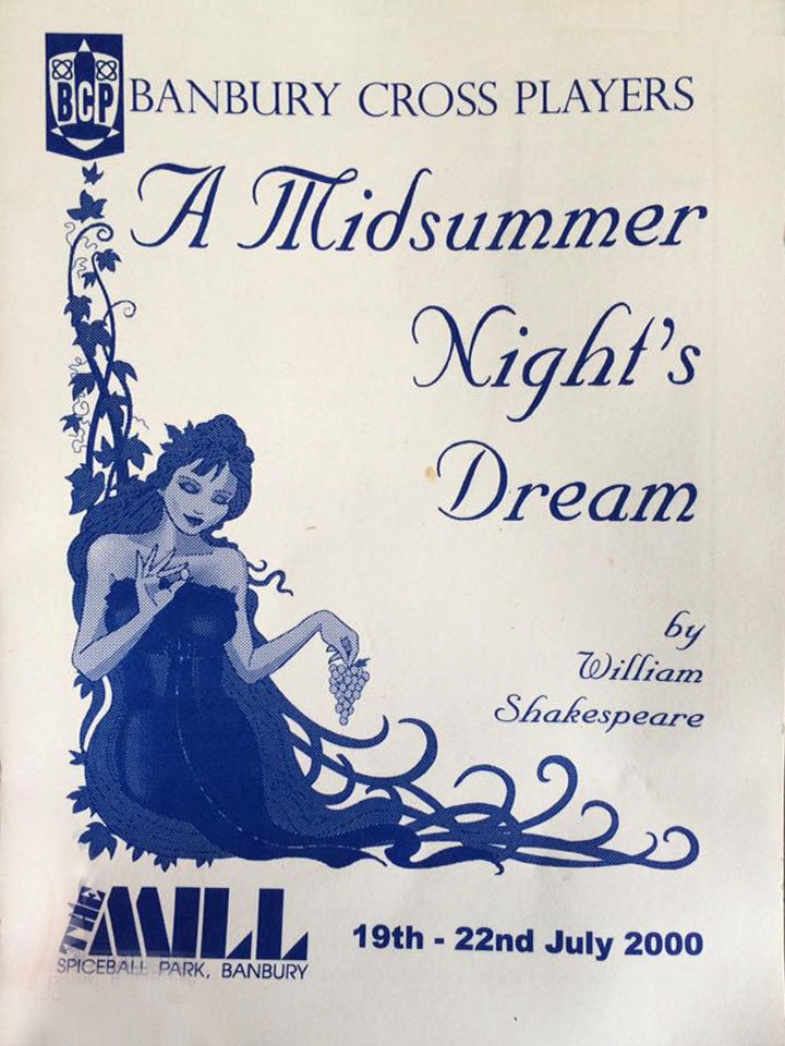 A Midsummer Nights Dream (front)