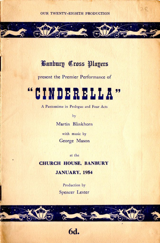 Cinderella programme 01