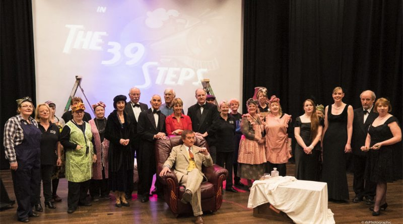 The 39 steps group photo