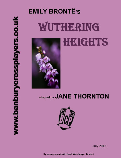 Wuthering Heights programme cover