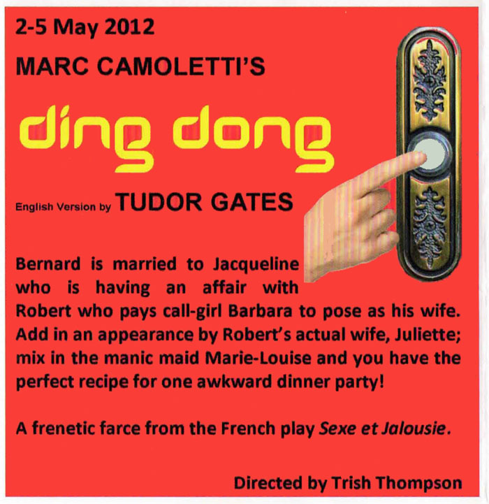 Ding Dong by Marc Camoletti - Banbury Cross Players
