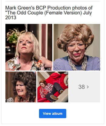 Odd Couple Female Version 2013