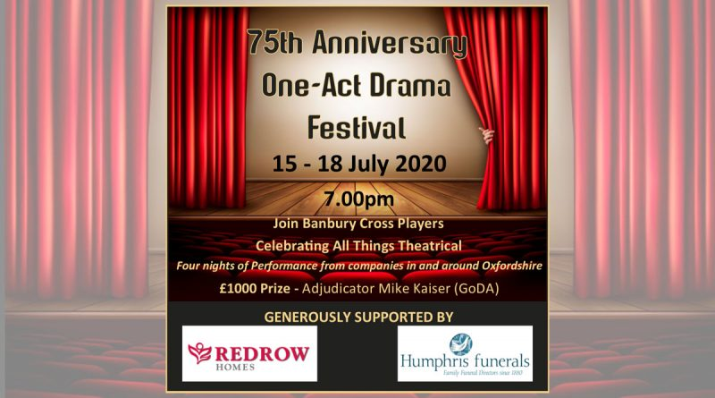 75th Anniversary Festival of One-act Plays