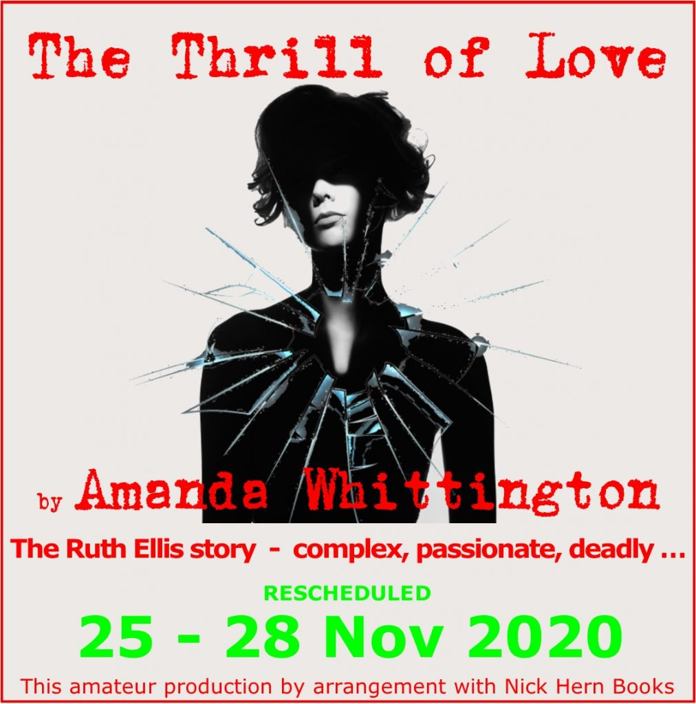 Thrill of Love Rescheduled