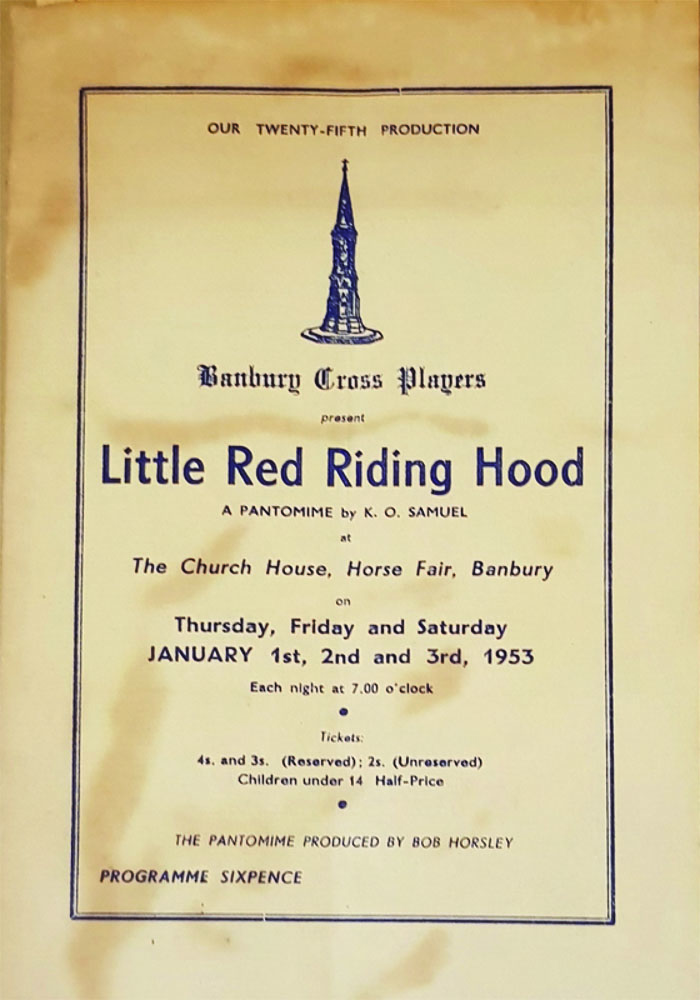 Little Red Riding Hood Programme