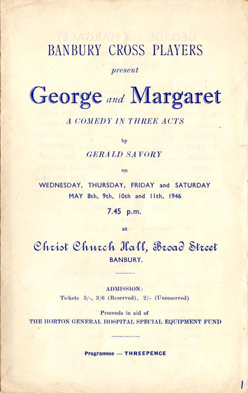 George and Margaret Prog1