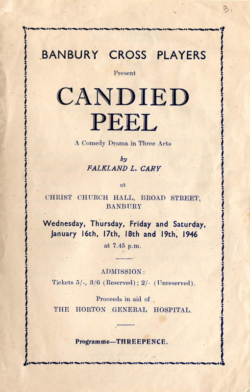 Programme p1