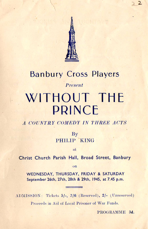 Without a Prince programme 1