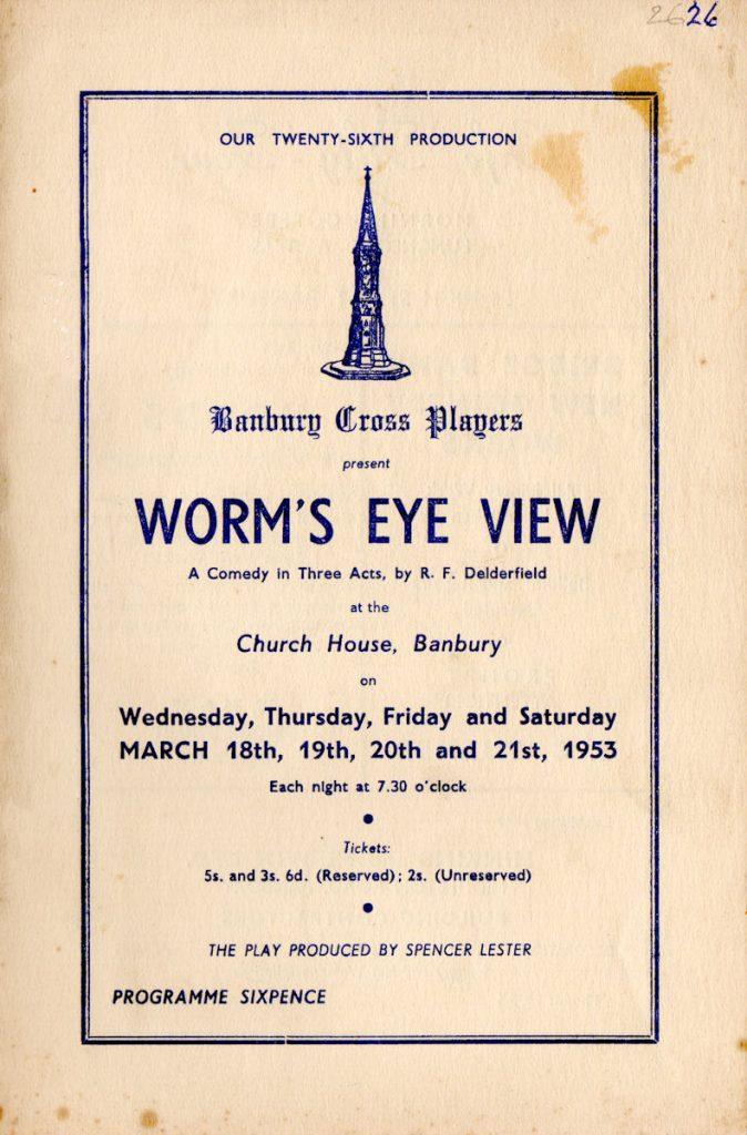Worms Eye View Programme 1