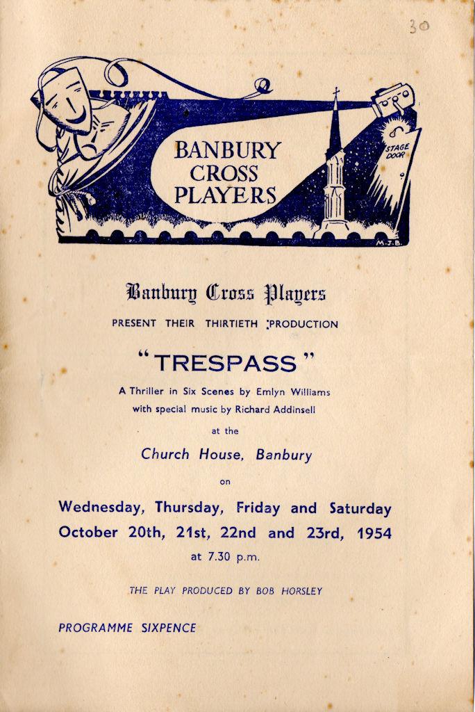Trespass Programme 1